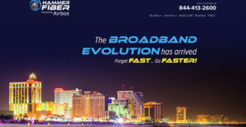 Hammer Fiber Looks to Better Downbeach Web and Voice Services